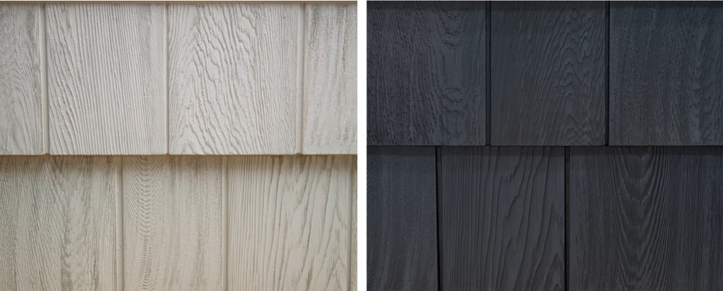 Foundry Grayne shingle siding